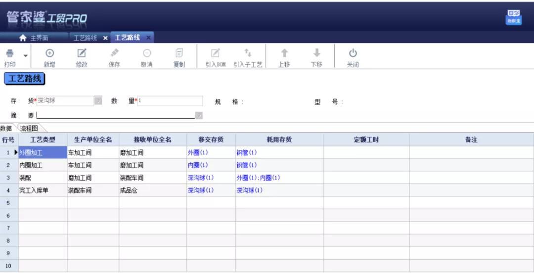 管家婆软件五金生产企业解决方案:管家婆工贸PRO